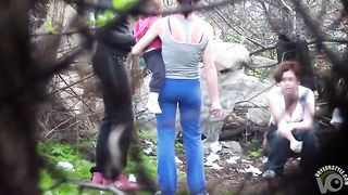 Amateur women go pee in a public spot--_short_preview.mp4