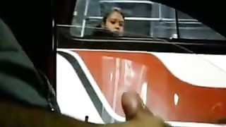 Girl on a bus sees him masturbating in the car--_short_preview.mp4