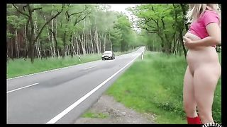Curvy spouse flicks her clit on the side of the road--_short_preview.mp4