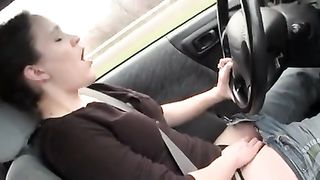 Turned on girlfriend drives and flicks her clit--_short_preview.mp4
