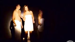 Australian students dance around wrapped in towels--_short_preview.mp4