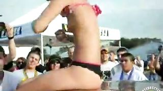 Skinny girl undresses and flaunts her flexible body in public--_short_preview.mp4
