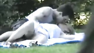 Fingering his cute blonde girlfriend in the park--_short_preview.mp4