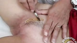 Careful waxing leaves a strip of hair on the pussy--_short_preview.mp4