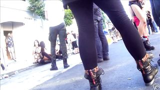 Amazing upskirts at Folsom Street Fair in San Francisco--_short_preview.mp4