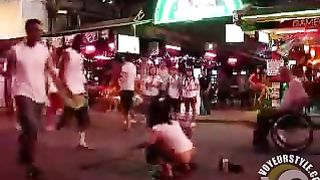 Nastiest woman urinates in the middle of the street of Pattaya--_short_preview.mp4
