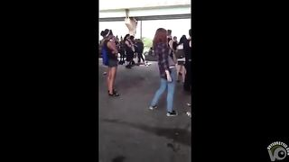 Drunk chick at an outdoor party peed her pants--_short_preview.mp4