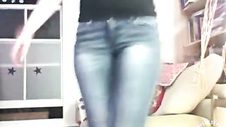 Naughty lass soaks her pants for the fans--_short_preview.mp4
