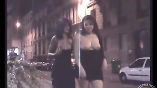 Slutty lesbians going nude on the parking lot--_short_preview.mp4