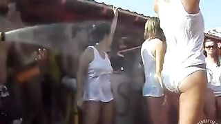 Wet tee shirt and limbo contest with party girls--_short_preview.mp4