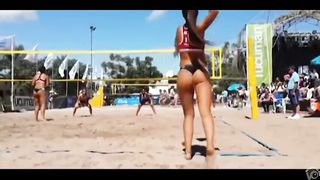 Sporty babe with gorgeous butt plays volleyball--_short_preview.mp4
