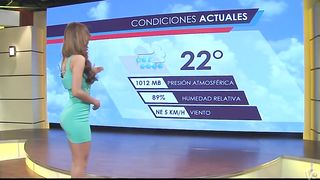 Famous Spanish bombshell delivers the weather report in a tight dress--_short_preview.mp4