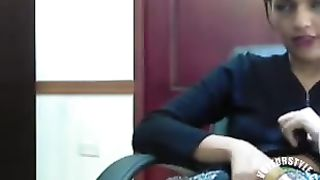 Our beautiful secretary with perky tits delivers an amazing cam show--_short_preview.mp4