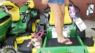 Awesome upskirt pussy while we shop for lawnmowers--_short_preview.mp4