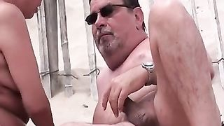 French mature couple goes fully hardcore in the sand--_short_preview.mp4