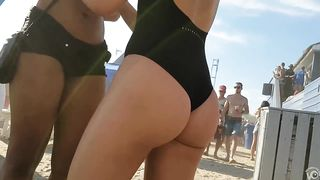 Beach club girl goes to a party in a swimming suit--_short_preview.mp4