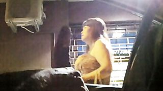 Shaking his dick at a pretty Thai woman on the street--_short_preview.mp4