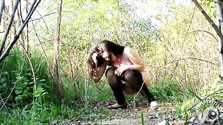 Amateur brunette takes off her jeans quickly by being desperate--_short_preview.mp4
