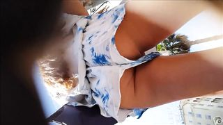 Foxy stunner has the lower part of her butt recorded sneakily--_short_preview.mp4
