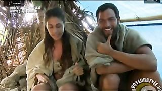 Survivalist show woman shows her pussy to everyone--_short_preview.mp4