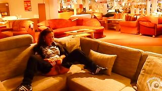 Urination on a couch at furniture store--_short_preview.mp4