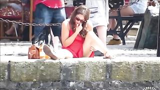 Hypnotic brunette reads the book in sunlight--_short_preview.mp4