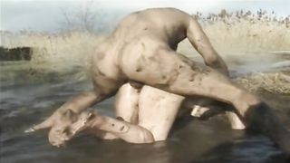 Muddy sex from behind with a moaning dirty whore--_short_preview.mp4