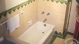 My roommate taking a bath--_short_preview.mp4