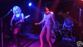 Drunken man gets naked on the rock stage--_short_preview.mp4
