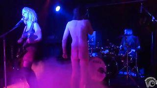 Drunken man gets naked on the rock stage--_short_preview.mp4