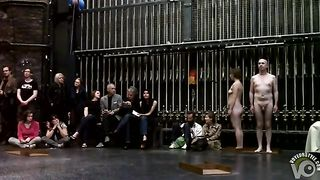 Mature couple flashes in nude art performance piece--_short_preview.mp4