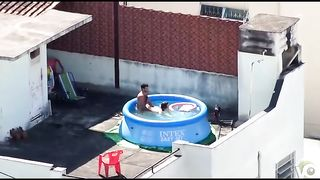 Doggystyle screwing outdoors in the pool--_short_preview.mp4