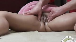 Friend massages and bangs my horny wife--_short_preview.mp4