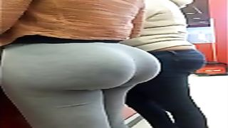 Brazilian whooty with huge ass walks around in tight sweatpants--_short_preview.mp4