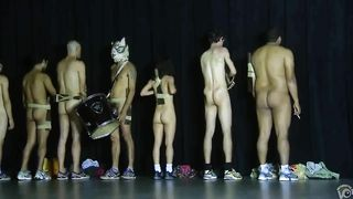 Raunchy guys and sexy chicks strip down on the stage--_short_preview.mp4