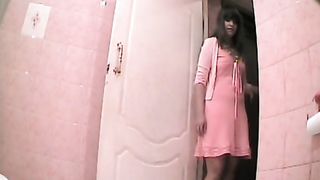 Pretty girl in pink dress takes a long piss--_short_preview.mp4