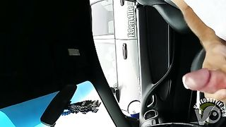 Jacking off in the auto and exposing my dick--_short_preview.mp4