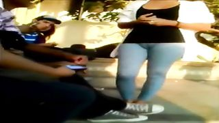 Tight yoga pants are uncovering her pussy--_short_preview.mp4