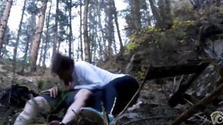 Playful sweetheart gets her wet hole pounded in the woods--_short_preview.mp4