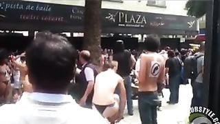 Party chick goes topless in the crowd--_short_preview.mp4