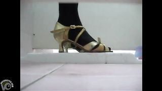 Party girl in stockings and heels takes a pee in a club toilet--_short_preview.mp4