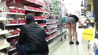 Amateur babe teases with upskirt at hardware store--_short_preview.mp4