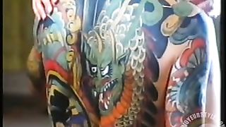 Sensual vintage lovemaking between couple with body art--_short_preview.mp4