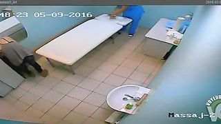 Hottie undresses and lays down on the therapy table--_short_preview.mp4