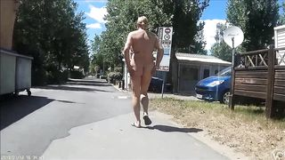 Mature nudists walk around the beach town completely naked--_short_preview.mp4