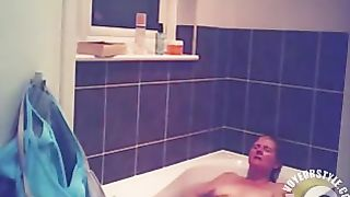 Foxy blonde with perky tits enjoys masterbating in the bathroom--_short_preview.mp4