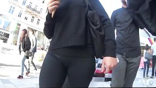 Slow motion candid cameltoe in spandex pants--_short_preview.mp4