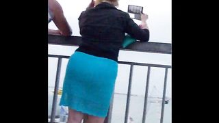 Milf in heels and a tight skirt has a big ass--_short_preview.mp4