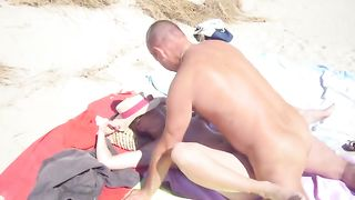 Hardcore sex with a mature couple at the nudist beach--_short_preview.mp4