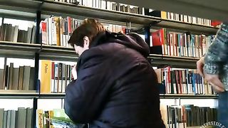 Masturbating next to a woman in the bookstore--_short_preview.mp4
